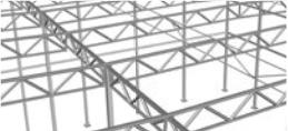 Внешний шаг колонн: 6мВнутренний шаг колонн: 6м, 12м, 18мИспользование подстропильной системы позволяет максимально эффективно использовать внутренние площади помещения.